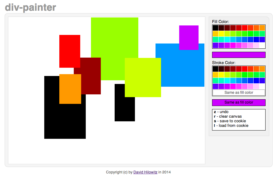 divpainter screenshot